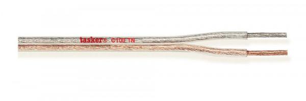 Tasker Flat Audio Cable C100 TN, transparent,