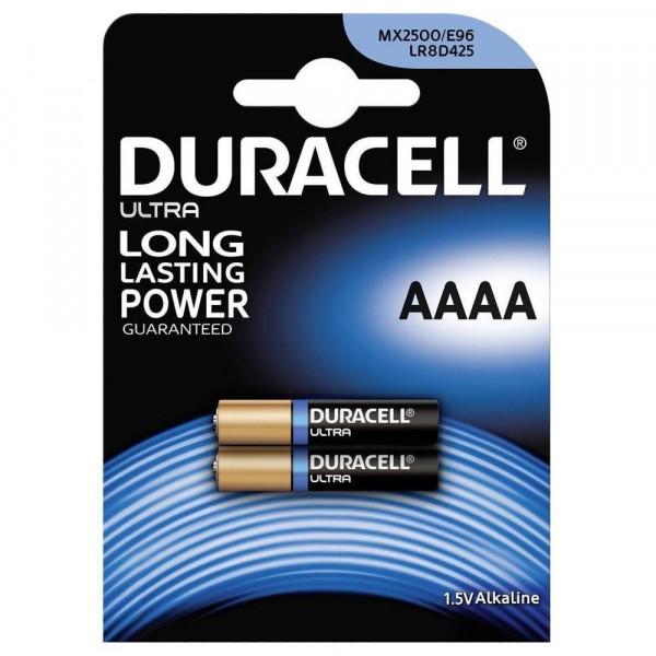 Duracell Alkaline AAAA LR61, MN2500, 1.5V