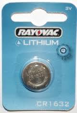 Rayovac Lithium 1632