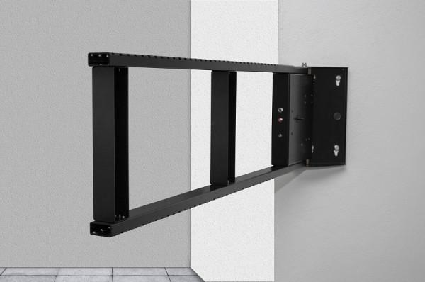 DSS motorisierter Wandhalter, schwarz/1374