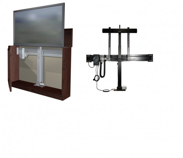 DSS TV Lift Premium 2, IR, schwarz, Metall/0522