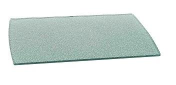 AUDIORAQ Glasdrehplatte GP 3352 grau metallic
