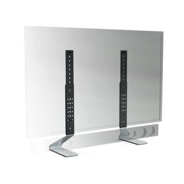 Tischfuss Erard Fit-Up Large, silber, Metall
