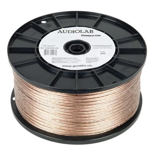 AUDIOLAB Standard-LS-Kabel, transparent