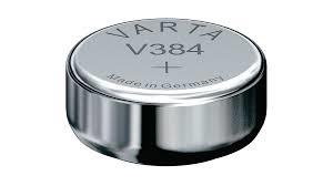 Knopfzelle-Uhrenbatterie V384, 1.55V, 42mAH