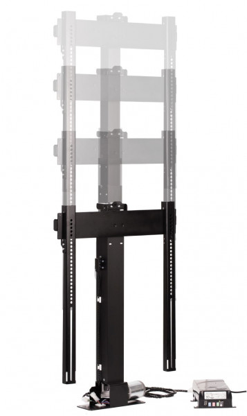 DSS TV Lift Eco1, RF, schwarz, Metall / 0416